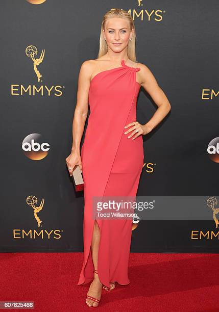 Actress Julianne Hough attends the 68th Annual Primetime Emmy Awards at Microsoft Theater on September 18 2016 in Los Angeles California