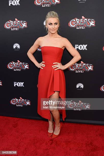Actress Julianne Hough attends the For Your Consideration event for FOX's Grease Live at Paramount Studios on June 15 2016 in Los Angeles California