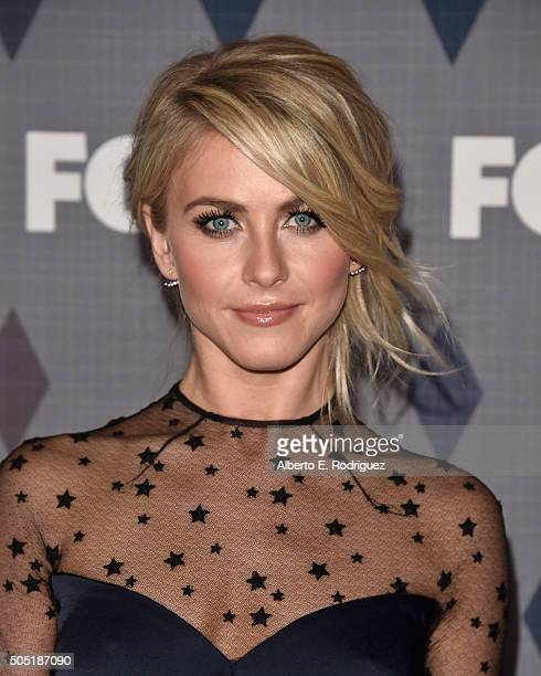 Actress Julianne Hough attends the FOX Winter TCA 2016 AllStar Party at The Langham Huntington Hotel and Spa on January 15 2016 in Pasadena California