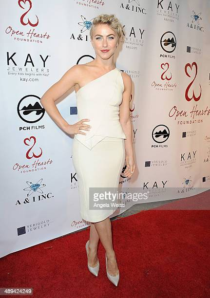 Actress Julianne Hough attends the 'Open Hearts Foundation Gala' on May 10 2014 in Malibu California