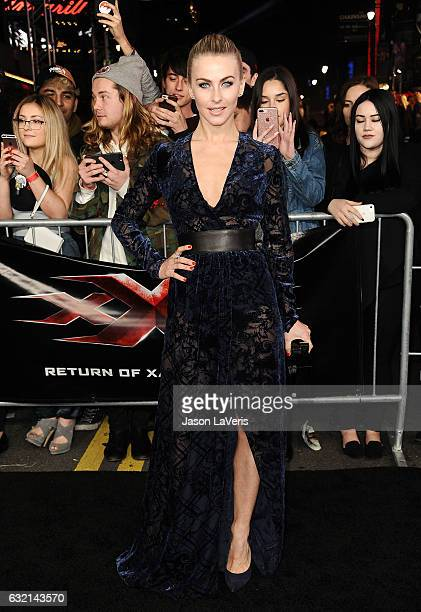 Actress Julianne Hough attends the premiere of 'xXx Return of Xander Cage' at TCL Chinese Theatre IMAX on January 19 2017 in Hollywood California