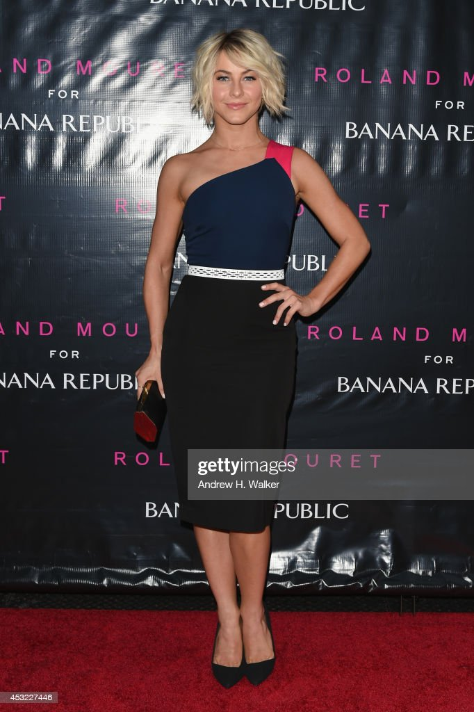 Actress Julianne Hough attends the Roland Mouret for Banana Republic Collection Launch on August 5, 2014 at White Street Restaurant in New York City.