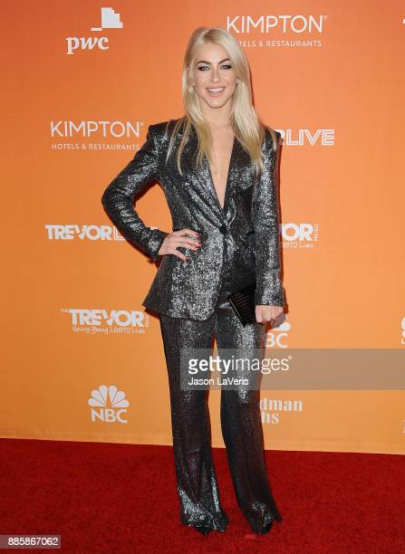 Actress Julianne Hough attends The Trevor Project's 2017 TrevorLIVE LA at The Beverly Hilton Hotel on December 3 2017 in Beverly Hills California