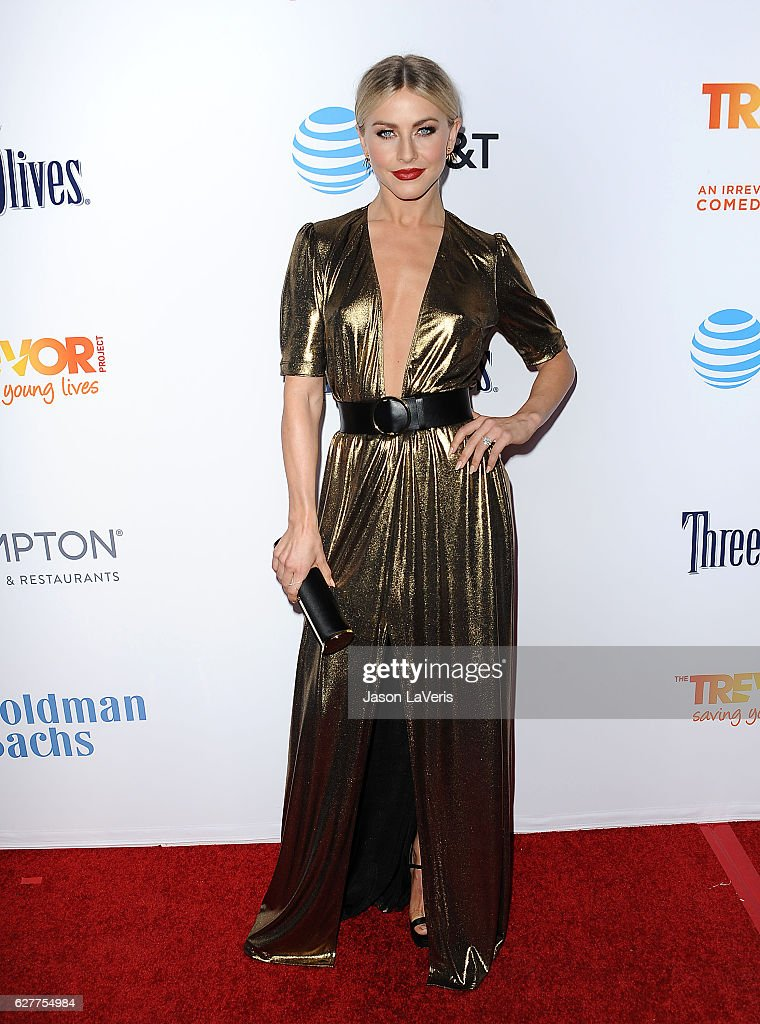 Actress Julianne Hough attends the TrevorLIVE Los Angeles 2016 fundraiser at The Beverly Hilton Hotel on December 4, 2016 in Beverly Hills, California.