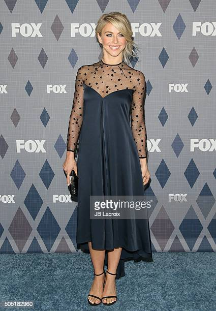 Actress Julianne Hough attends the Winter TCA Tour FOX Winter TCA 2016 AllStar Party at the Langham Huntington Hotel on January 15 2016 in Pasadena...