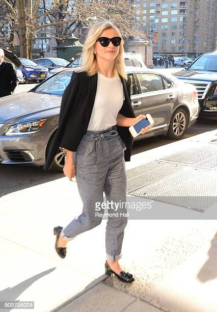 Actress Julianne Hough is seen walking in 'Midtown' on January 19 2016 in New York City