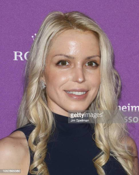 Actress Julianne Michelle attends the 35th Annual Alzheimer's Association Rita Hayworth Gala at Cipriani 42nd Street on October 23 2018 in New York...