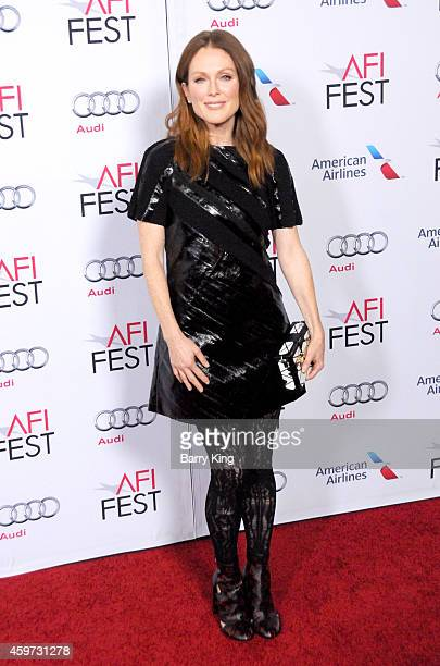 Actress Julianne Moore arrives at AFI FEST 2014 Presented By Audi 'Still Alice' Premiere at Dolby Theatre on November 12 2014 in Hollywood California