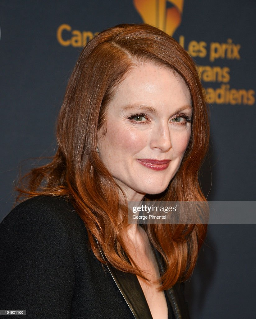 Actress Julianne Moore arrives at the 2015 Canadian Screen Awards at the Four Seasons Centre for the Performing Arts on March 1, 2015 in Toronto, Canada.
