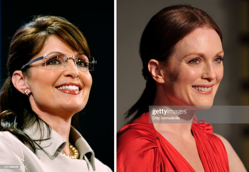 FILE PHOTO:  Actress Julianne Moore To Play Republican Politician Sarah Palin In Biopic Role : News Photo