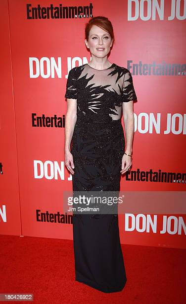 Actress Julianne Moore attends Don Jon New York Premiere at SVA Theater on September 12 2013 in New York City