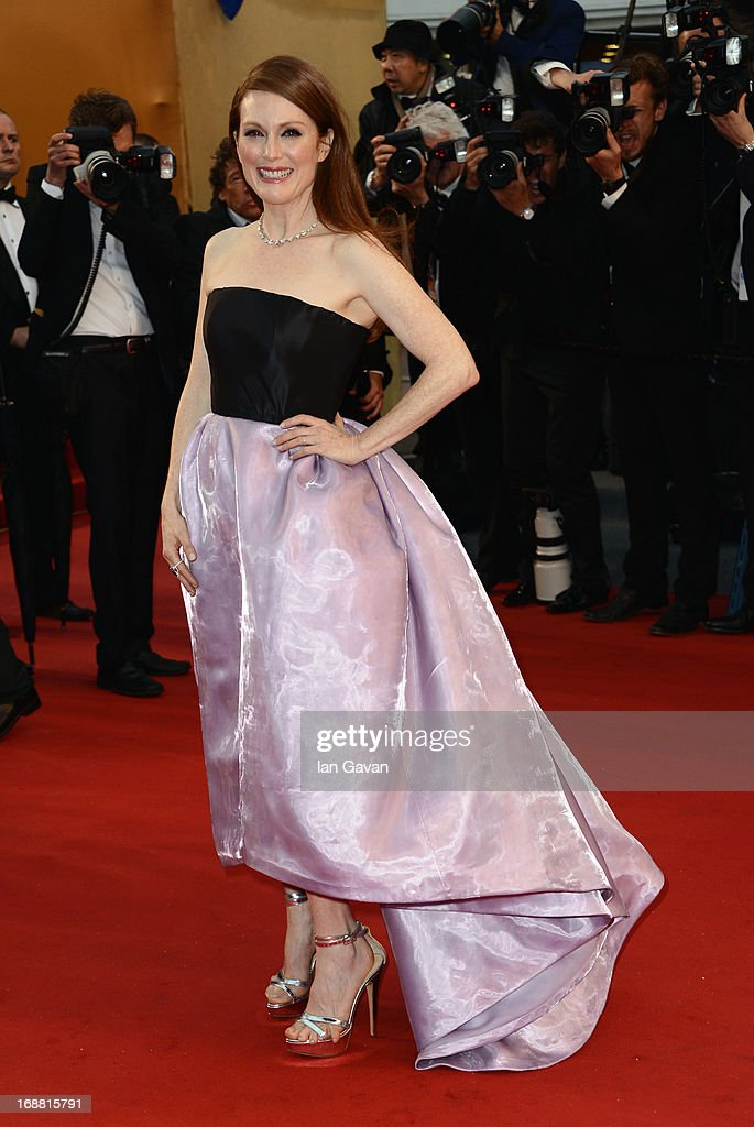 Actress Julianne Moore attends Electrolux at Opening Night of The 66th Annual Cannes Film Festival at the Theatre Lumiere on May 15, 2013 in Cannes, France.