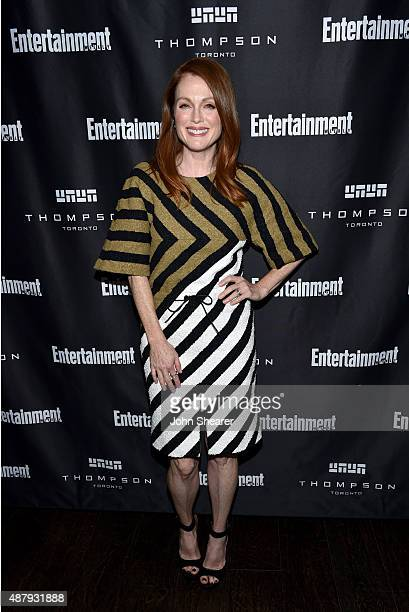Actress Julianne Moore attends EW's Must List Party during the 2015 Toronto International Film Festival at Thompson Hotel on September 12 2015 in...
