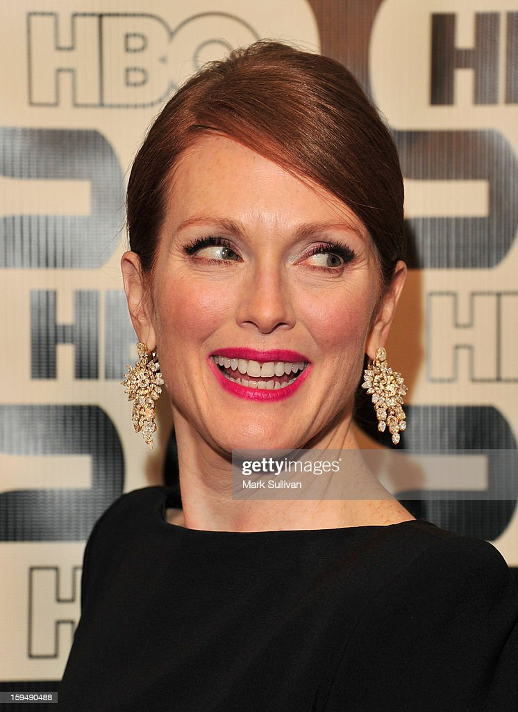 Actress Julianne Moore attends HBO's 70th Annual Golden Globes after party at Circa 55 Restaurant on January 13, 2013 in Los Angeles, California.