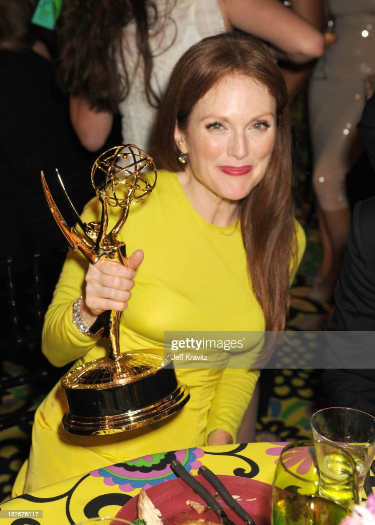 Actress Julianne Moore attends HBO's Official Emmy After Party at The Plaza at the Pacific Design Center on September 23, 2012 in Los Angeles, California.