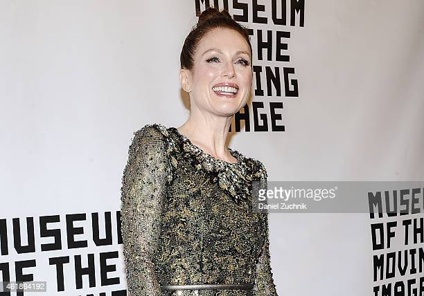 Actress Julianne Moore attends Museum Of The Moving Image Honors Julianne Moore at 583 Park Avenue on January 20 2015 in New York City