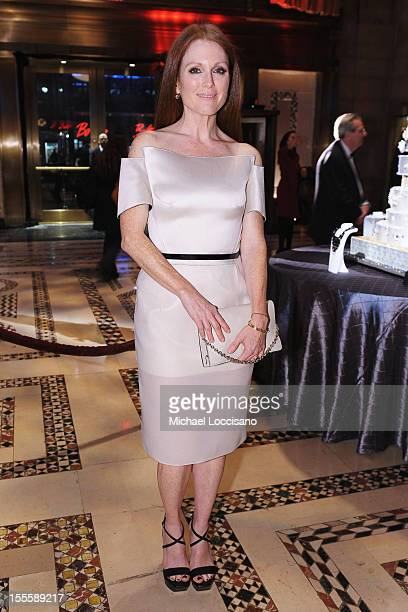 Actress Julianne Moore attends the 16th Annual ACE Awards presented by the Accessories Council at Cipriani 42nd Street on November 5 2012 in New York...