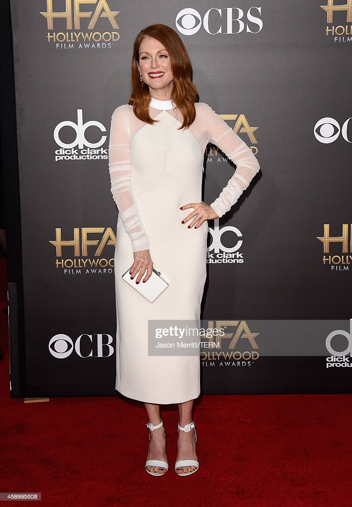 Actress Julianne Moore attends the 18th Annual Hollywood Film Awards at The Palladium on November 14, 2014 in Hollywood, California.
