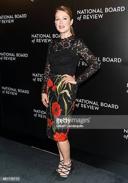 Actress Julianne Moore attends the 2014 National Board Of Review Gala at Cipriani 42nd Street on January 6 2015 in New York City