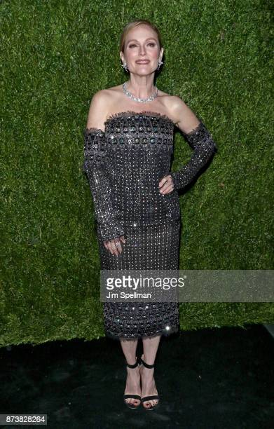 Actress Julianne Moore attends the 2017 Museum of Modern Art Film Benefit Tribute to herself at Museum of Modern Art on November 13 2017 in New York...