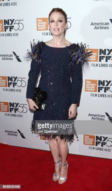 Actress Julianne Moore attends the 55th New York Film Festival 'Wonderstruck' premiere at Alice Tully Hall on October 7 2017 in New York City