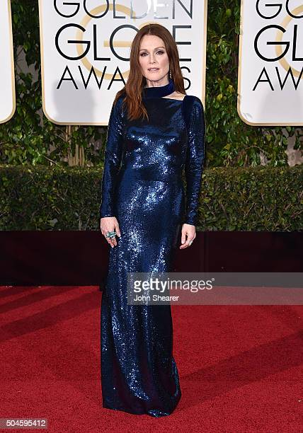 Actress Julianne Moore attends the 73rd Annual Golden Globe Awards held at the Beverly Hilton Hotel on January 10 2016 in Beverly Hills California