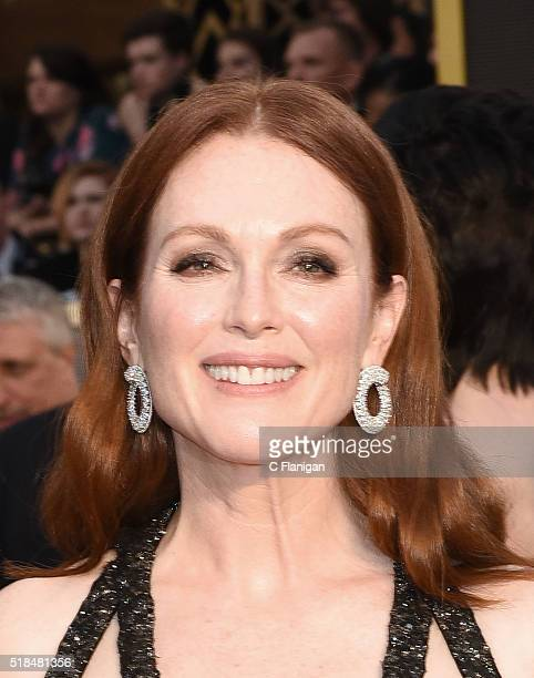 Actress Julianne Moore attends the 88th Annual Academy Awards at the Hollywood Highland Center on February 28 2016 in Hollywood California