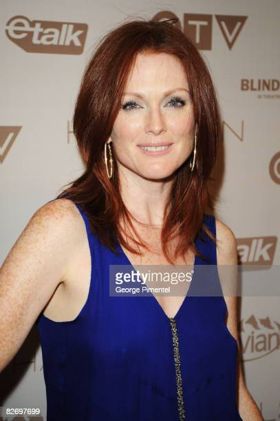 Actress Julianne Moore attends the Blindness After Party held at Chum/City TV during the 2008 Toronto International Film Festival on September 6 2008...