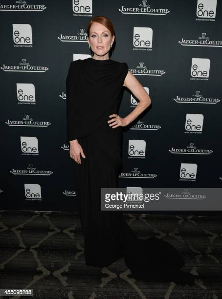 Actress Julianne Moore attends the JaegerLeCoultre Celebrates The North American Premiere Of 'Maps To The Stars' during the 2014 Toronto...