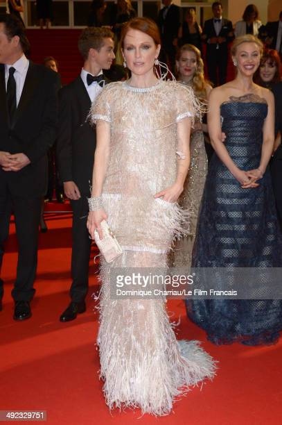 Actress Julianne Moore attends the Maps To The Stars photocall at the 67th Annual Cannes Film Festival on May 19 2014 in Cannes France