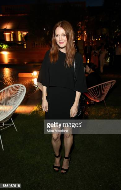 Actress Julianne Moore attends the Netflix party during the 70th annual Cannes Film Festival at on May 21 2017 in Cannes France
