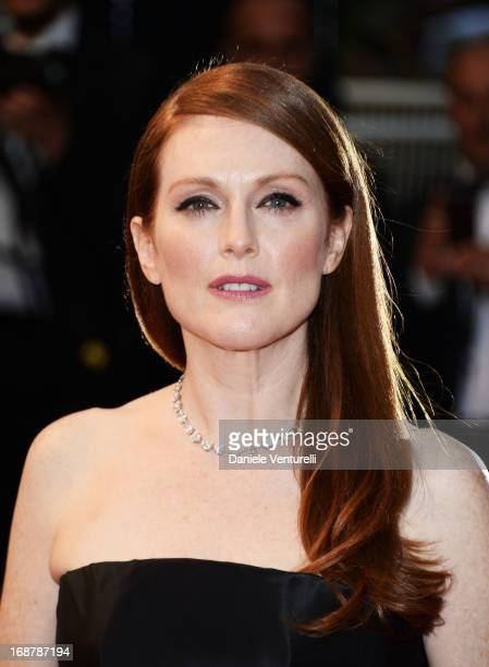 Actress Julianne Moore attends the Opening Ceremony and premiere of 'The Great Gatsby' during the 66th Annual Cannes Film Festival at Palais des...