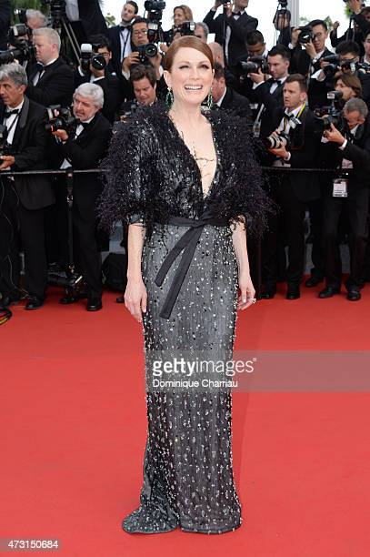 Actress Julianne Moore attends the opening ceremony and premiere of La Tete Haute during the 68th annual Cannes Film Festival on May 13 2015 in...