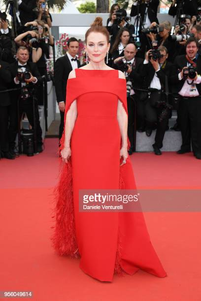 Actress Julianne Moore attends the screening of Everybody Knows and the opening gala during the 71st annual Cannes Film Festival at Palais des...