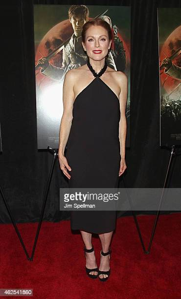 """Actress Julianne Moore attends the """"Seventh Son"""" special screening at Crosby Street Hotel on January 30, 2015 in New York City."""