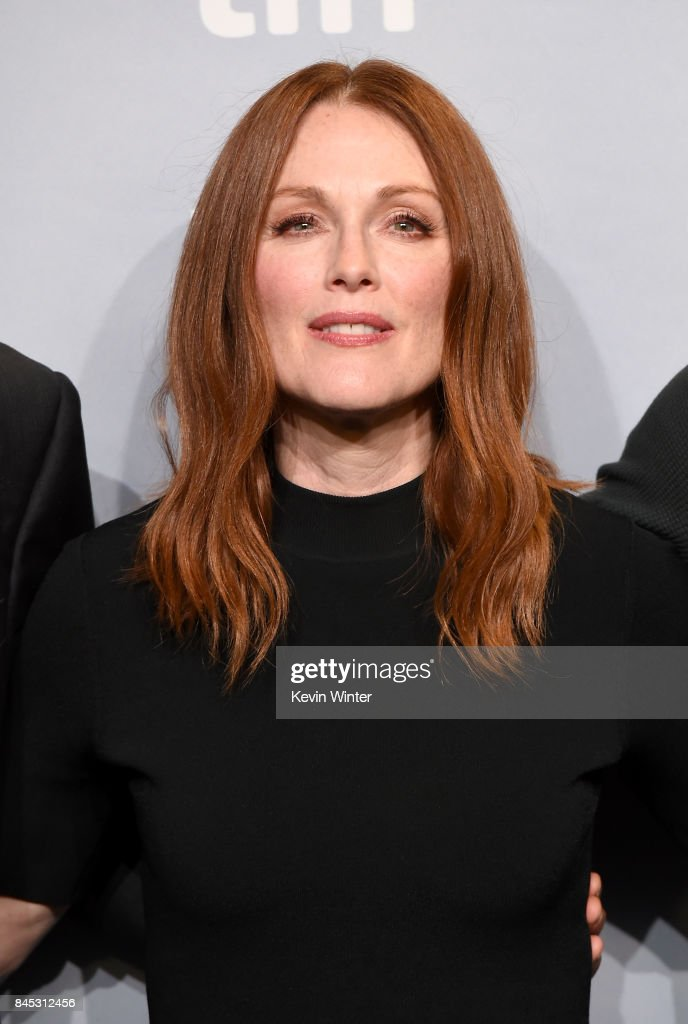 Actress Julianne Moore attends the 'Suburbicon' press conference during the 2017 Toronto International Film Festival at TIFF Bell Lightbox on September 10, 2017 in Toronto, Canada.