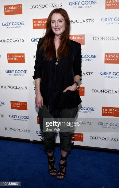 Actress Julianne Moore attends the Sundance Channel's ICONOCLASTS season 5 launch party at Lavo on September 21 2010 in New York City