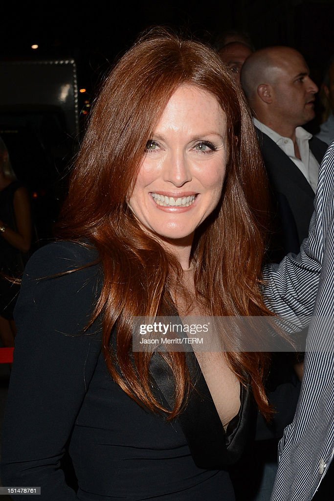Actress Julianne Moore attends the 'What Maisie Knew' post premiere reception at the Virgin Mobile Arts & Cinema Centre on September 7, 2012 in Toronto, Canada.