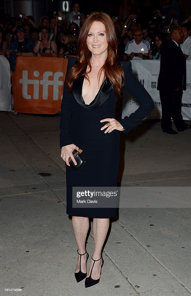 Actress Julianne Moore attends the 'What Maisie Knew' premiere during the 2012 Toronto International Film Festival at Roy Thomson Hall on September 7, 2012 in Toronto, Canada.