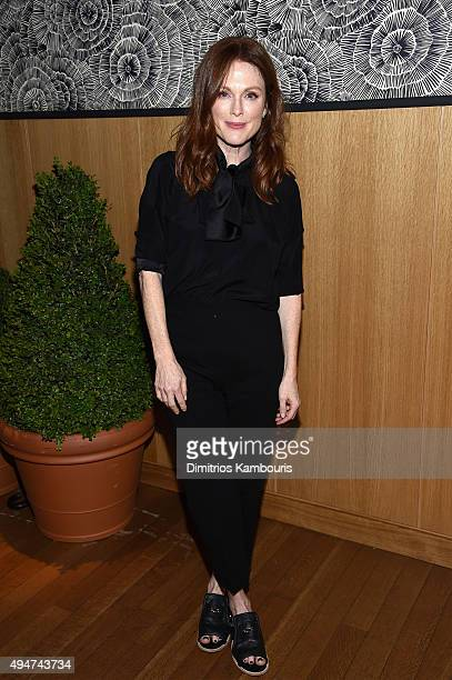 Actress Julianne Moore attends Through Her Lens: The Tribeca Chanel Women's Filmmaker closing night at The Smyth Hotel on October 28, 2015 in New...