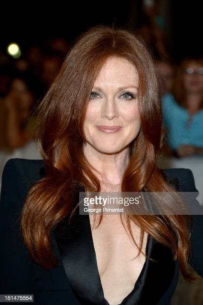 Actress Julianne Moore attends 'What Maisie Knew' premiere during the 2012 Toronto International Film Festival at Roy Thomson Hall on September 7...