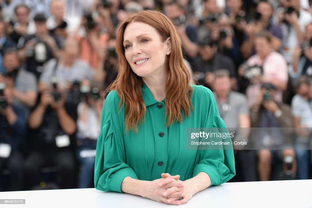 Actress Julianne Moore attends 'Wonderstruck' Photocall during the 70th annual Cannes Film Festival at Palais des Festivals on May 18, 2017 in Cannes, France.