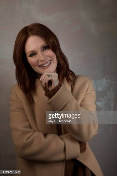 Actress Julianne Moore, from 'After the Wedding' is photographed for Los Angeles Times on January 25, 2019 at the 2019 Sundance Film Festival, in...