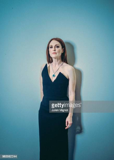 Actress Julianne Moore is photographed for Grazia Daily on May 2018 in Cannes France