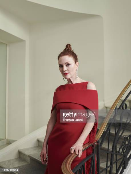 Actress Julianne Moore is photographed for Self Assignment, on May, 2018 in Cannes, France. . .