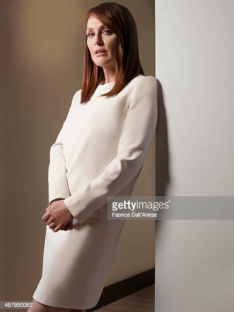 Actress Julianne Moore is photographed for Vanity Fair Italy on May 15 2014 in Cannes France