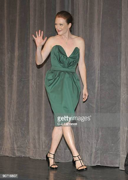 """Actress Julianne Moore onstage at the """"Chloe"""" screening during the 2009 Toronto International Film Festival held at Roy Thomson Hall on September 13,..."""