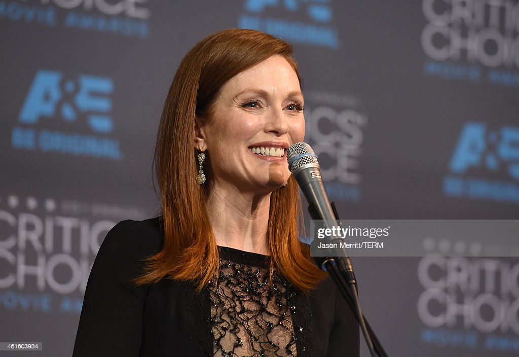 20th Annual Critics' Choice Movie Awards - Press Room : News Photo