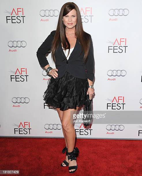 Actress Julianne Morris arrives at the 2011 AFI FEST Opening Night Gala J Edgar Premiere at Grauman's Chinese Theatre on November 3 2011 in Hollywood...