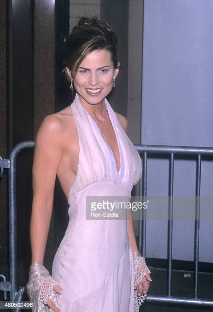 Actress Julianne Morris attends the 28th Annual Daytime Emmy Awards on May 18 2001 at Radio City Music Hall in New York City